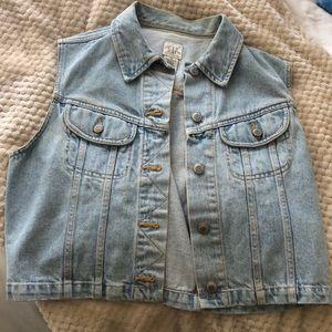 90s GAP Jean vest - size M